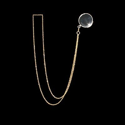 """Hand Made 17.5"""" Chain for Monocle, Pendent or Pocket Watch"""