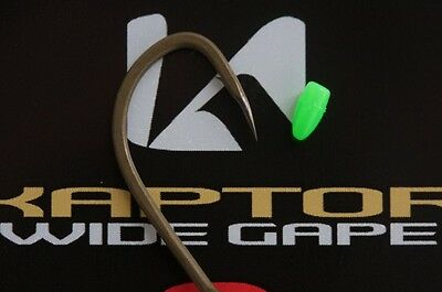 Korda - Kaptor - Wide Gape Hooks - Barbed / Barbless **Discontinued Product**