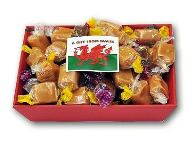 Fudge Gift Hamper Christmas Present  From Wales 500g