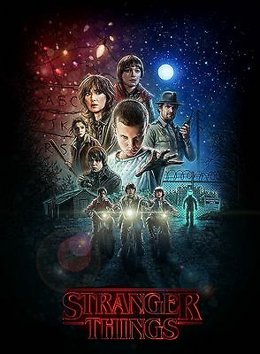 Stranger Things Poster (2016) Netflix 24x36 inches B RESTOCK!!!