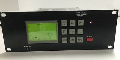MKS 113B-2 Power Supply Readout