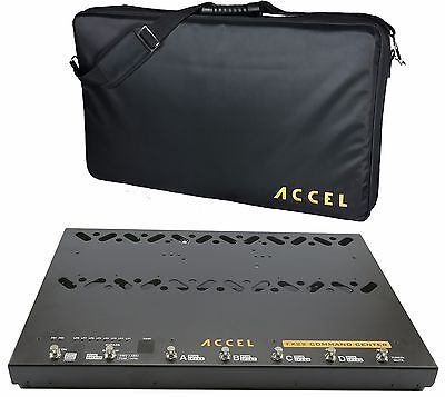 Switcher Pedal Board, 1 Isolated O/P's Power Supply Accel FX22 Command Center
