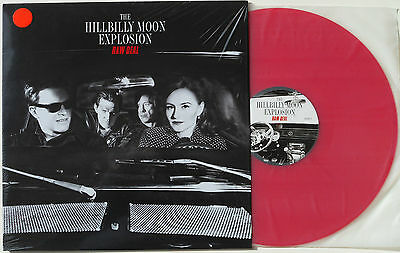 HILLBILLY MOON EXPLOSION 'Raw Deal' best of 180g RED VINYL LP sealed rockabilly