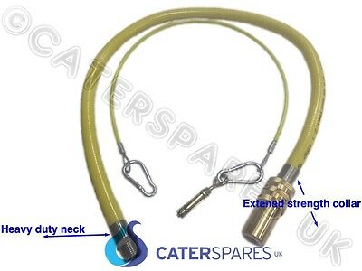 NEW DESIGN CATERHOSE COMMERCIAL YELLOW GAS CATERING PIPE HOSE 1M LONG 1000mm