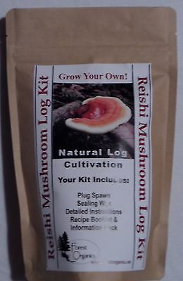 Reishi Mushroom Growing Log Kit