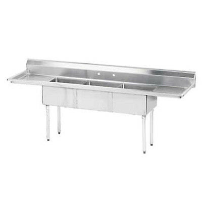 "Advance Tabco FE-3-1515-15RL 15"" Fabricated NSF Econom Sink"