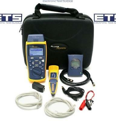 Fluke Networks CableIQ CIQ-SVC Qualification Tester Kit Cable IQ