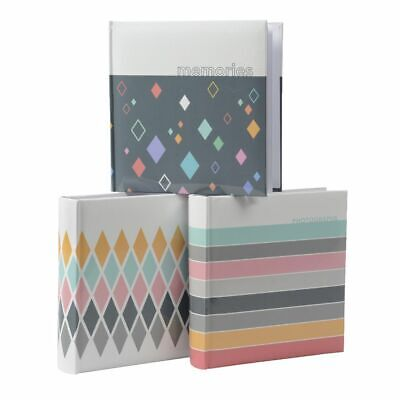 Lifestyle Brands Blair 200 Capacity Photo Album Assorted