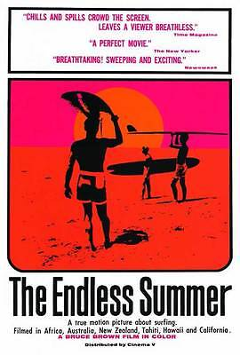 """THE ENDLESS SUMMER Movie Poster [Licensed-New-USA] 27x40"""" Theater Size (1966) B"""