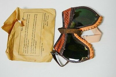 #1 Vintage Type II Goggle M-1943 Paratrooper Dust Goggles WWII