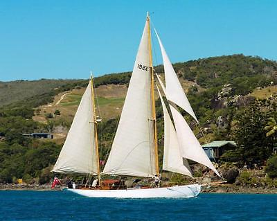 The Great Gatsby Yacht - Charles Nicholson 60' Classic Ketch