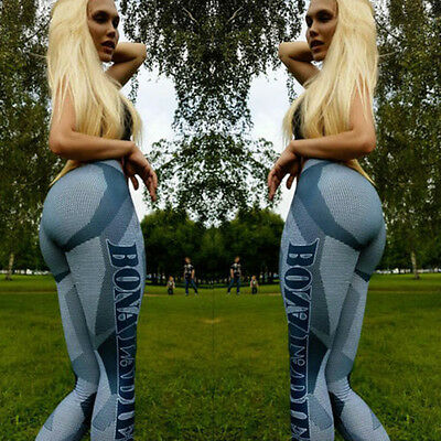 Women Sexy Sport Gym Yoga Sports Legging Pants Fitness Workout Running Trousers