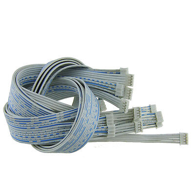 10pcs PH 2.0mm Pitch 4Pin Both Side Female Connector with 26AWG 600mm Cable s739