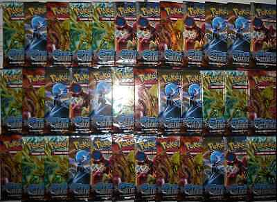 Pokemon XY Steam Siege 36 Loose Booster Packs Sealed New Unsearched f.r. box