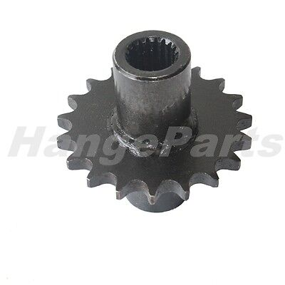19 Tooth Output Gear Box Front Sprocket for GY6 150cc ATV Scooter Go Kart Moped