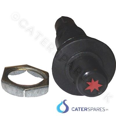 18mm ROUND PIEZO IGNITION SPARK BUTTON WITH 2.8MM SPADE TERMINAL CONNECTION