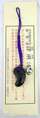勾玉 MAGATAMA Pierre d'ame - Pierre porte bonheur - Onyx - Made in Japan 02