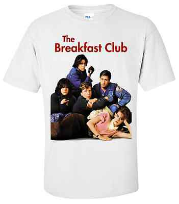 THE BREAKFAST CLUB  T-Shirt Sizes SMALL, MEDIUM & LARGE