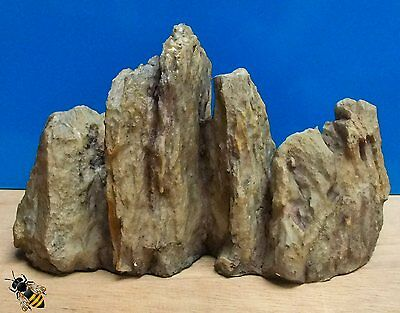Aquarium Ornament Rock Cluster Stone Artificial Decoration Fish Tank New