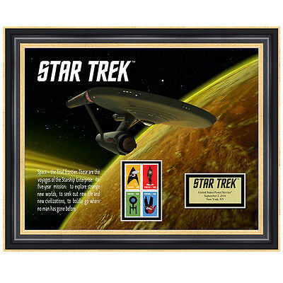USPS New Star Trek Framed Art
