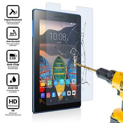 """2 x Tempered Glass Screen Protector for 7"""" Tablet Lenovo Tab 3 7 Essential"""