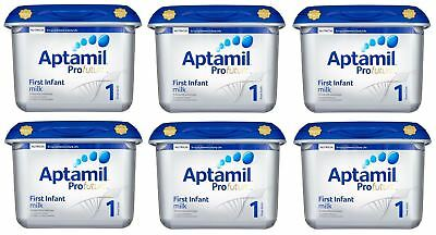 Aptamil Profutura First Infant Milk Stage 1 from Birth 800g - 6 Pack