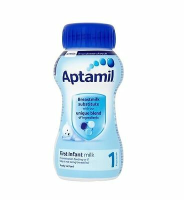 Aptamil First Milk 1 Ready to Feed  From Birth 200ml