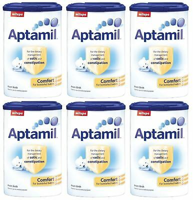 Aptamil Comfort From Birth 900g - 6 Pack