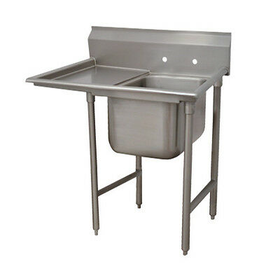 "Advance Tabco T9-1-24-18L 16"" Regaline 1-Compartment Sink"