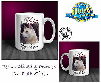 Deerhound Personalised Ceramic Mug: Perfect Gift. (D298)