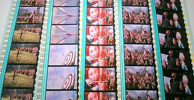 Disney's - Brave-  Rare Unmounted 35mm Film Cells - 5 Strips
