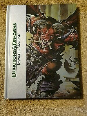 Dungeons And Dragons Monster Manual Book