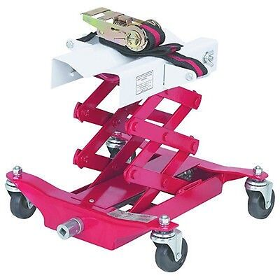 Mobile Low Profile Scissor Transmission Jack