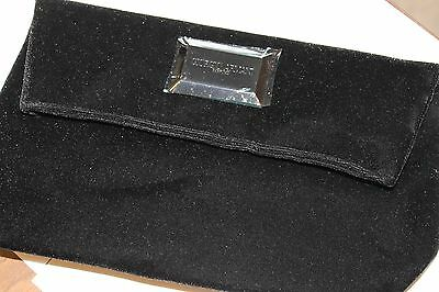 921fc01f8c GIORGIO ARMANI NEW Black Velvet Clutch purse -  24.99