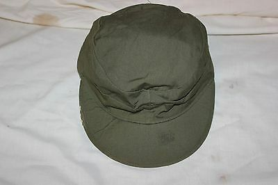US Military Issue WW2 Era Original WWII  HBT Field Cap with Ear Flaps 7 1/4