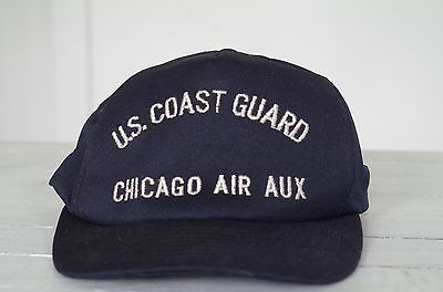 US Coast Guard Chicago Air Auxiliary Adjustable Hat United States USCG Aux