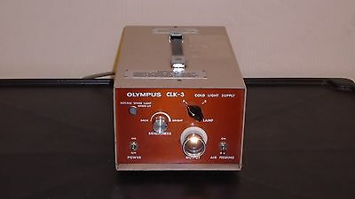 Olympus CLK-3 Cold Light Supply Endoscopy Light Source Fully Functional