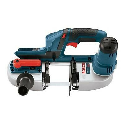 BOSCH 18 Volt Lithium Li - Ion Cordless Compact Band Saw Bare Tool Portable