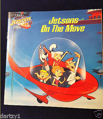 Hanna Barbera Jetsons on the Move by Marc Gave (1990, Paperback)