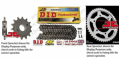 DID- X Ring JT Sprocket Chain Kit fits Suzuki GSF1250 S Bandit (ABS) 07-11