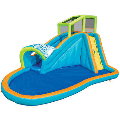 Banzai Pipeline Water Park Kids Outdoor Inflatable Water Swimming Pool Play Toy
