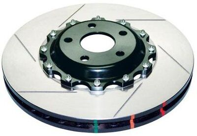 DBA (52314BLKS) 5000 Series 2-Piece Slotted Disc Brake Rotor, Front