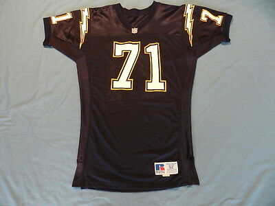 1990's San Diego Chargers non game used jersey