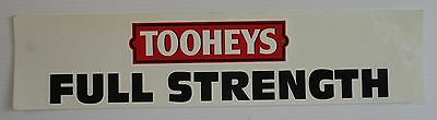 Tooheys Beer design brand new sticker decal for home bar pub or collector