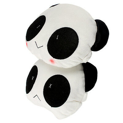 1pair Comfortable Panda Car Pillow Seat Covers For Headrest Interior Accessories