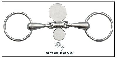 """Loose Ring Snaffle Horse Bit - Closed Spoons - 12.5cm  / 5"""" BS183SS"""