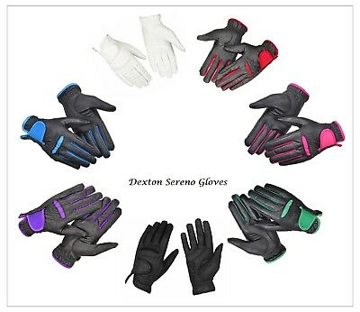 Borraq Dexton Sereno Championship Riding Gloves Men's, Ladies & Kids Sizes