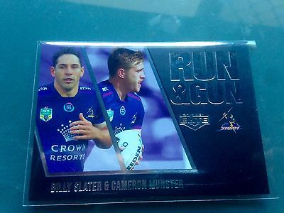 2016 Esp Nrl Elite Run & Gun Parallel Rgp13 Slater & Munster *#001* Storm