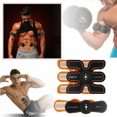 Household Abdominal Muscles Training Electric Weight Loss Slimming Massager>