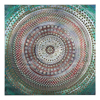 Stunning Moroccan Stud Canvas Wall Art Hanging Unique Gift Wedding Home Deco
